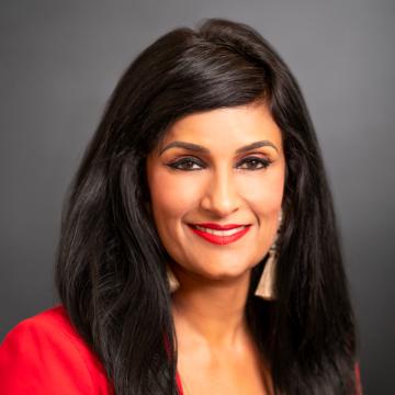 Aruna Ravichandran Headshot for View from the C-Suite Webinar
