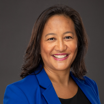 Ronalee Zarate-Bayani Headshot for View from the C-Suite Webinar